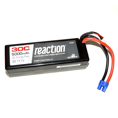 batterie lipo reaction 3s 5000mah 30c arcadrone. Black Bedroom Furniture Sets. Home Design Ideas