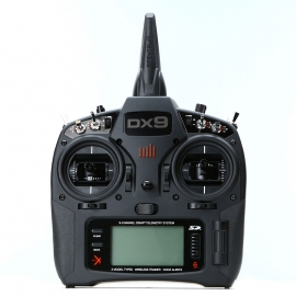 RADIOCOMMANDE SPEKTRUM DX9 BLACK EDITION + AR9020