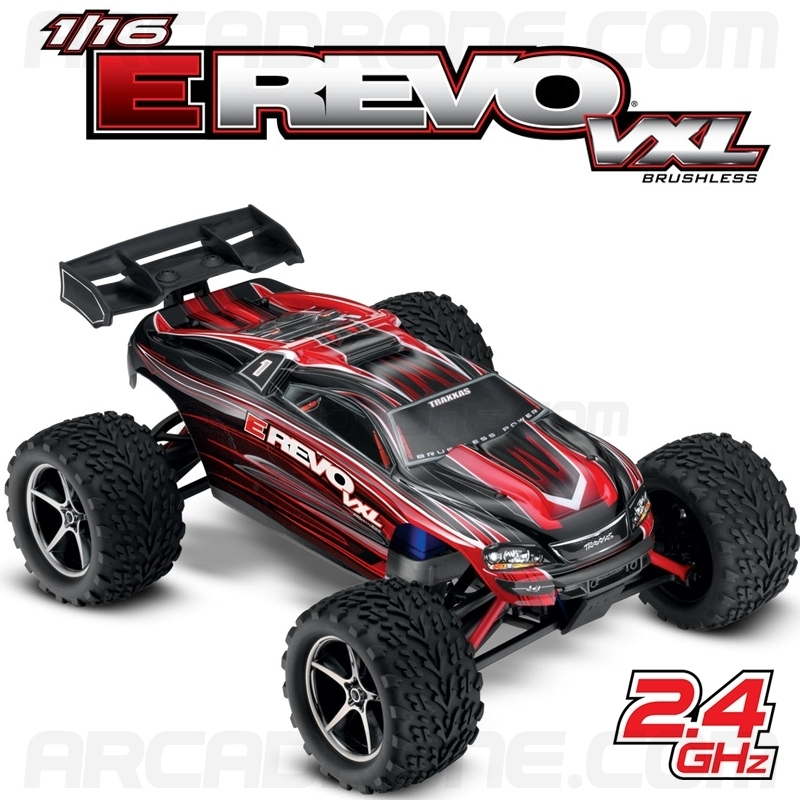 e revo vxl brushless voiture rc lectrique 1 16 2 4ghz arcadrone. Black Bedroom Furniture Sets. Home Design Ideas