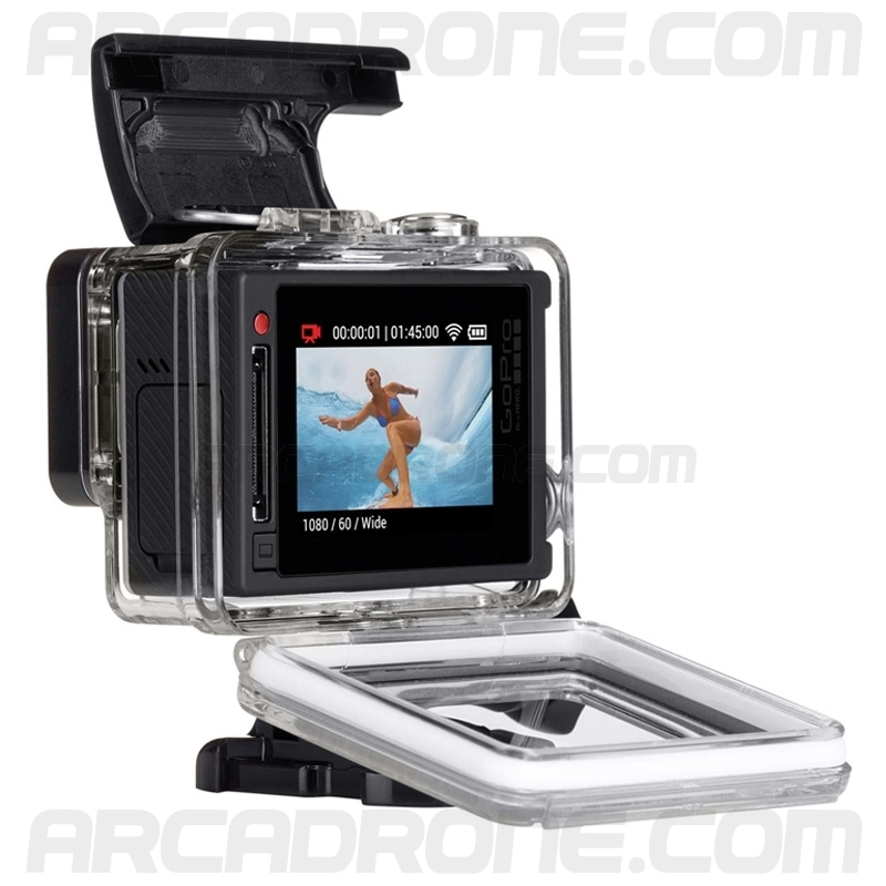 camera gopro hero 4 silver dition arcadrone. Black Bedroom Furniture Sets. Home Design Ideas