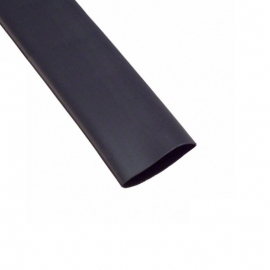 GAINE THERMORÉTRACTABLE 33MM NOIRE 1M