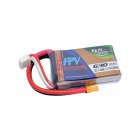 BATTERIE LIPO EPS 3S 630 mAh 75C TOP RACING EDITION XT30