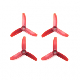HÉLICES HQPROP DURABLE POLYCARBONATE 3X3X3 ROUGES DP3x3x3R-PC