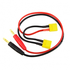 CABLE DE CHARGE XT60 SERIES FICHES BANANES GF-1200-091