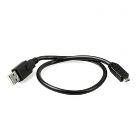 CABLE USB MICRO-B 40CM