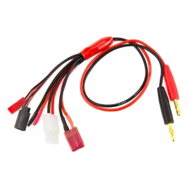 CABLE DE CHARGE BEC JST FUTABA RX TAMIYA DEAN GF-1200-140