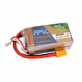 BATTERIE LIPO HV EPS 4S 1500 mAh 65C TOP RACING EDITION XT60
