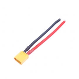 CABLE XT60 MALE AWG 14 12 CM